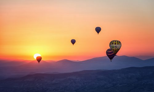 assorted-hot-air-balloons-photo-during-sunset-670061